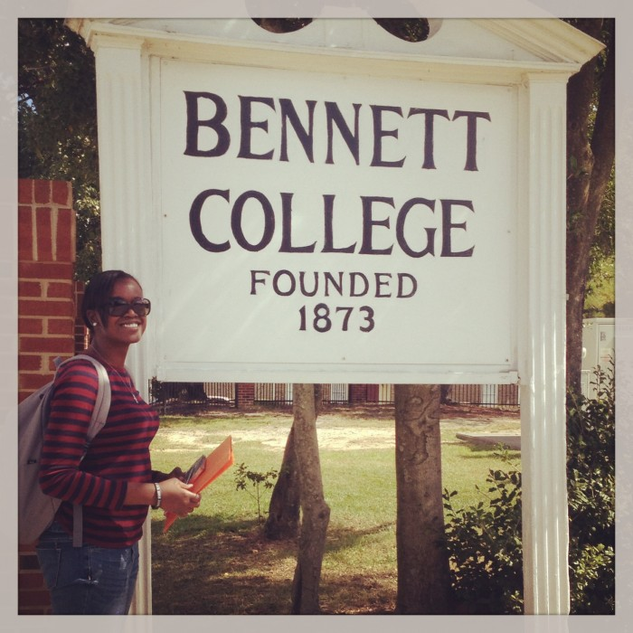 When We first arrived in Bennett